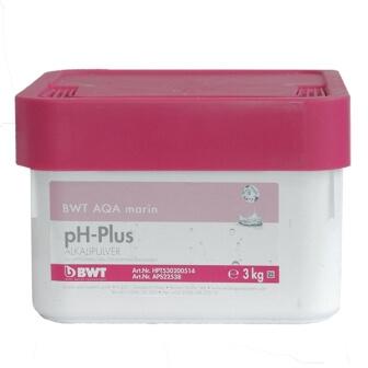 Средство для чистки бассейна BWT AQA marin pH Plus 3 кг