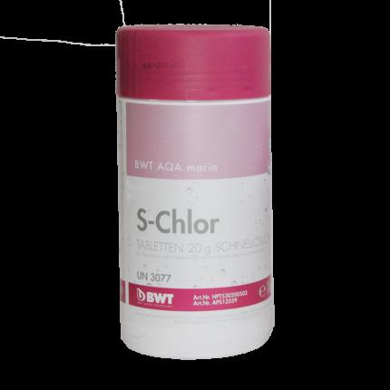 Дезинфицирующее средство для бассейна BWT AQA marin S-Chlor 1 кг