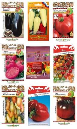 Набор семян Томаты, перцы, баклажаны ХИТ+ Партенокарпин