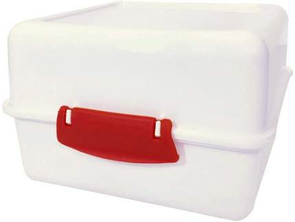 Аптечка BranQ Пилюльница, 14,7х15х9,5см, пластик, белый, BR2560