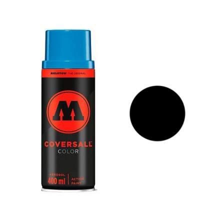 Аэрозольная краска Molotow Coversall Color 400 мл pure black черная