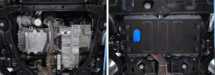 Защита картера и КПП Rival Ford Explorer V 2015-2018 2018-, st 1.8mm, 111.1848.1
