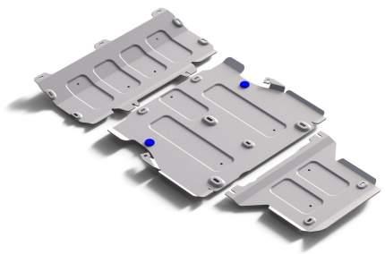 Защита картера, КПП и РК Rival Audi Q5 II АКПП 2017-н.в., al 3mm, 3 части, K333.0337.1