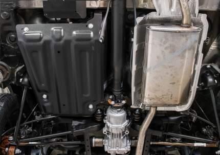 Защита топливн. бака Rival Nissan Terrano 14-/Renault Arkana/Duster 10-/Kaptur 16-20, 4WD