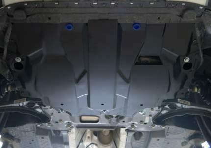Защита картера и КПП Rival Volkswagen Caddy IV (без Webasto) 2015-, st 1.5mm, 111.5855.1