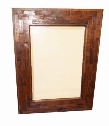 Зеркало в раме, Восточная Лавка, коричневый 528483