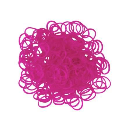 Набор для плетения из резинок Rubber Band одноцветные 600 шт., темно-розовый арт. К-103-4