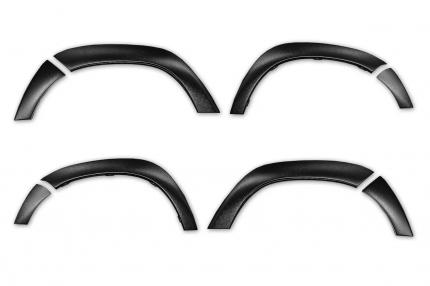 Накладки на колёсные арки для Renault Duster I рестайлинг 2015-, шагрень
