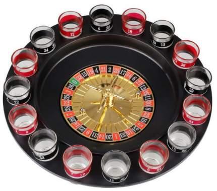 Алкогольная игра «Пьяная рулетка с 16 стопками»