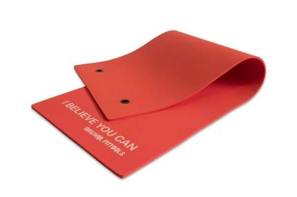 Fitness Tools Мат для аэробики 10 мм красный с кольцами OFT FT-MPM10R (INDRA)