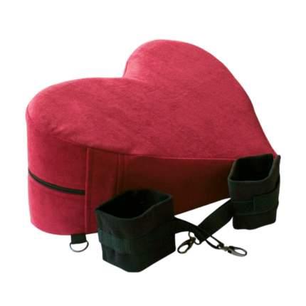 Подушка для любви RESTART SABINA fix с фиксаторами RA-504 красный