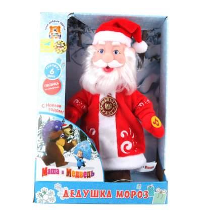 Мягкая игрушка Мульти-Пульти Дед мороз, пласт.лицо (м/ф маша и медведь) в дисплее 30 см