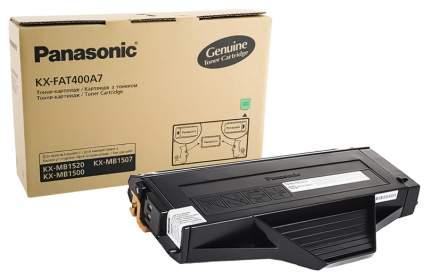 Картридж для лазерного принтера Panasonic KX-FAT400A7, черный, оригинал