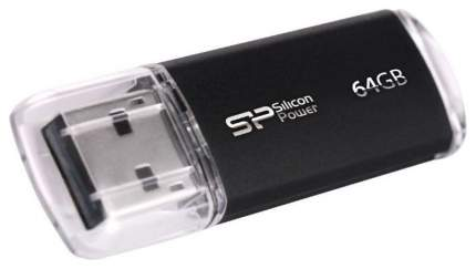 USB-флешка Silicon Power Ultima II 64GB Black (SP064GBUF2M01V1K)