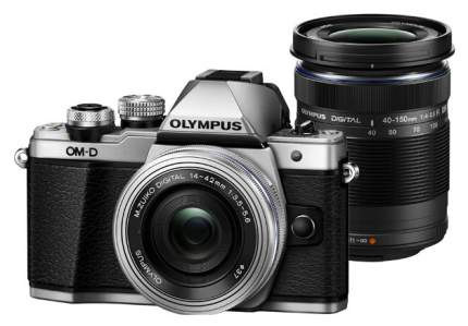 Фотоаппарат системный Olympus OM-D E-M10 Mark II Kit Silver + 40-150 mm Black