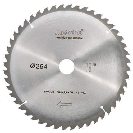 Пильный диск по дереву  metabo 628061000