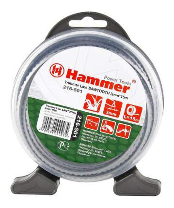 Леска для триммера Hammer 54031