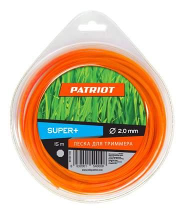 Леска для триммера PATRIOT Super Plus D 2,0 мм L 15 м 805401110