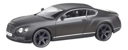 Машина металлическая Uni-Fortune 1:32 Bentley Continental GT V8 инерционная серый матовый