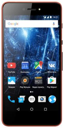 Смартфон Highscreen Razar 16Gb Red