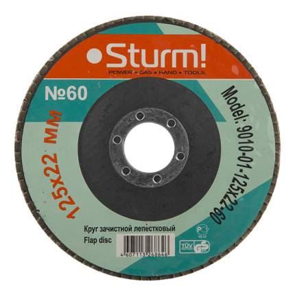 Диск лепестковый для угловых шлифмашин Sturm! 9010-01-125x22-60