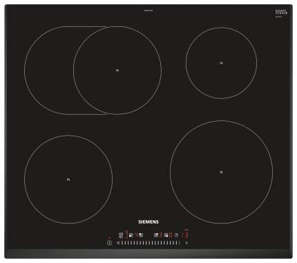 Встраиваемая варочная панель индукционная Siemens EH651FFB1E Black