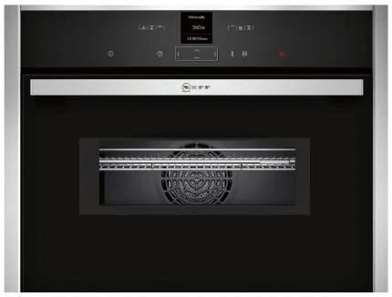 Встраиваемый электрический духовой шкаф Neff C17MR02N0 Silver