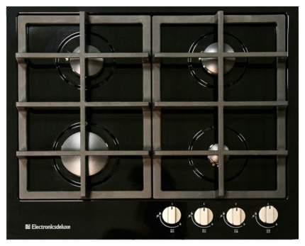 Встраиваемая варочная панель газовая Electronicsdeluxe TG4 750231F-040 Black
