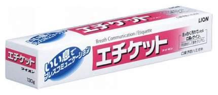 Зубная паста Lion ETIQUETTE Профилактика неприятного запаха изо рта Освежающая мята 130 гр