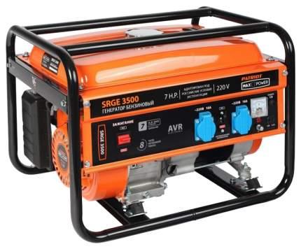 Бензиновый генератор Patriot Max Power SRGE 3500