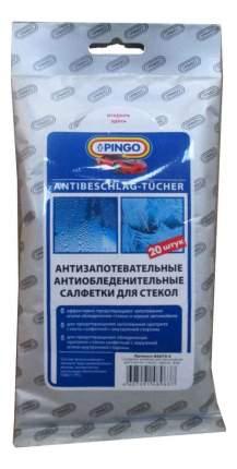 Влажные салфетки PINGO антизапотевательные и антиобледенительные для стекол № 20