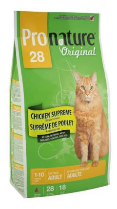 Сухой корм для кошек Pronature Original, цыпленок, 2,72кг