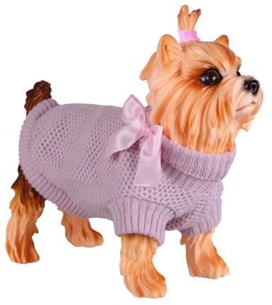 Свитер для собак DEZZIE размер L унисекс, розовый, длина спины 35 см