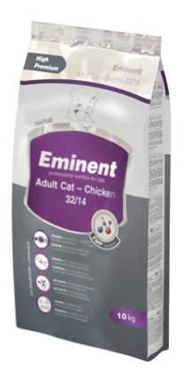 Сухой корм для кошек Eminent Adult Cat, курица, 10кг