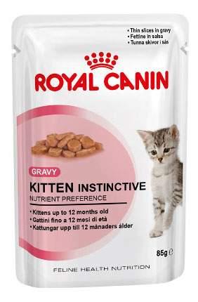 Влажный корм для котят ROYAL CANIN Kitten Instinctive, птица, 85г
