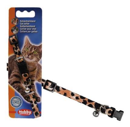 Ошейник для кошек Nobby Леопард полиэстер, разноцветный, 20-30 см