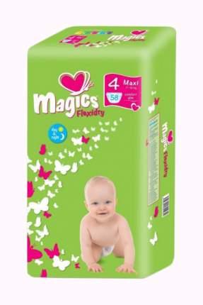 Подгузники Magics Flexidry Maxi 4 (7-18 кг), 58 шт.