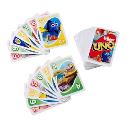 Семейная настольная игра Mattel inc UNO. В поисках Дори