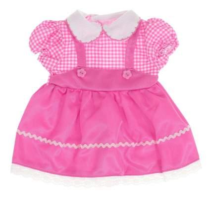 Платье розовый цвет 25,5x36x1 см для кукол Junfa toys
