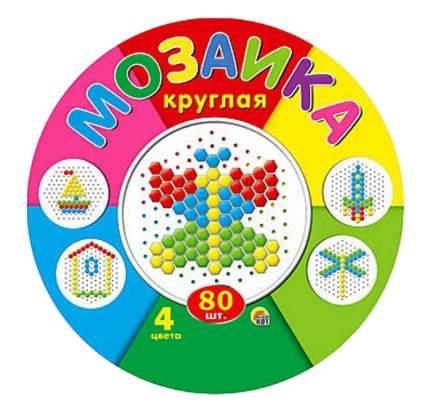 Мозаика Рыжий Кот Круглая 80 детей