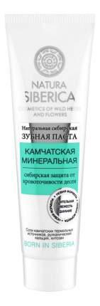 Зубная паста NATURA SIBERICA камчатская минер 100 мл