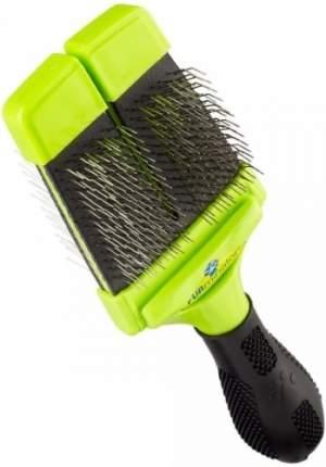 Пуходерка для собак FURminator® пластик, резина зеленый, черный