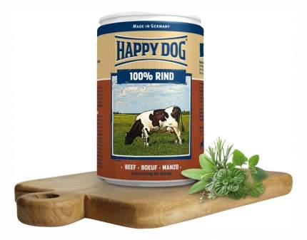 Консервы для собак Happy Dog 100% Rind, говядина, 400г