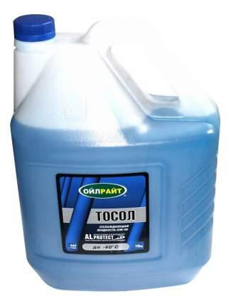 Антифриз Oil Right Синий Готовый антифриз -40 10кг 5232