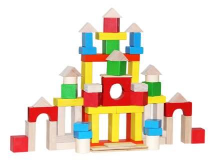 Конструктор деревянный Краснокамская игрушка Строим сами