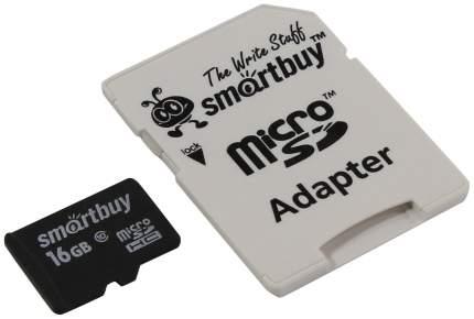 Карта памяти SmartBuy Micro SDHC SB16GBSDCL10-01 16GB