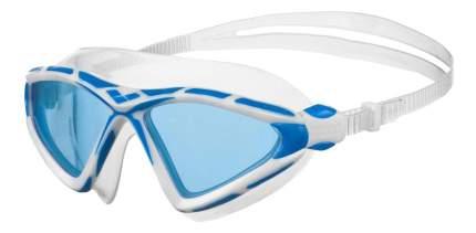 Очки-полумаска для плавания Arena X-Sight 2 белые/прозрачные/голубые (71)