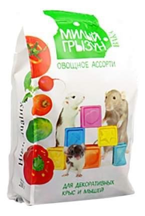 Корм для крыс, мышей Вака Милый грызун, овощное ассорти 0.2 кг 1 шт