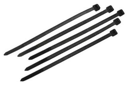 Хомуты нейлоновые FIT 60390 для проводов 150x2,5 мм 100 шт Черный