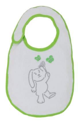 Нагрудник детский Polini Набор слюнявчиков Зайки зеленый с вышивкой